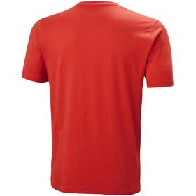 Helly Hansen HH Logo Camiseta Hombre, alert red